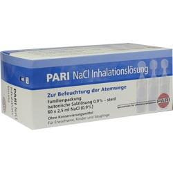 PARI NACL INHALATIONSLSG